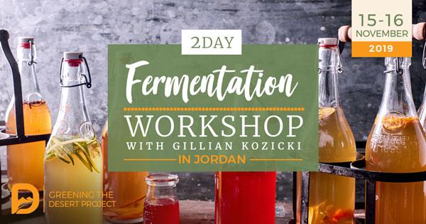Fermentation Workshop Course With Gillian
