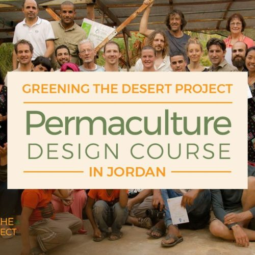 permaculture design certificate course PDC Greening the desert project